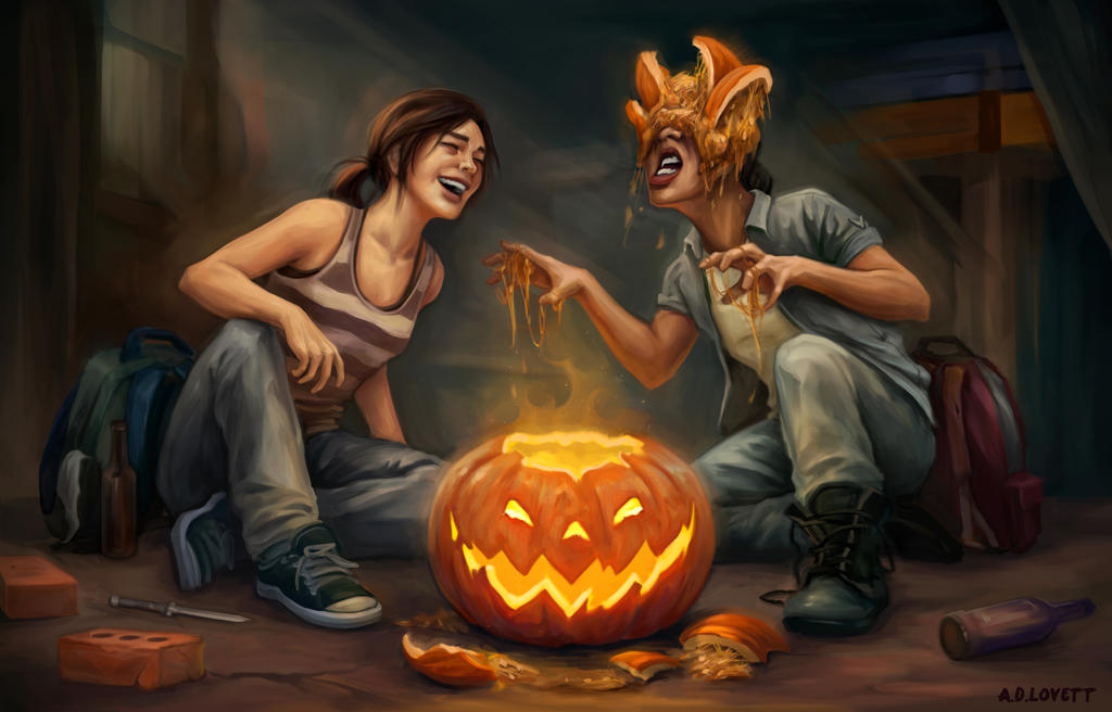 Last of Us: Halloween by adlovett on DeviantArt