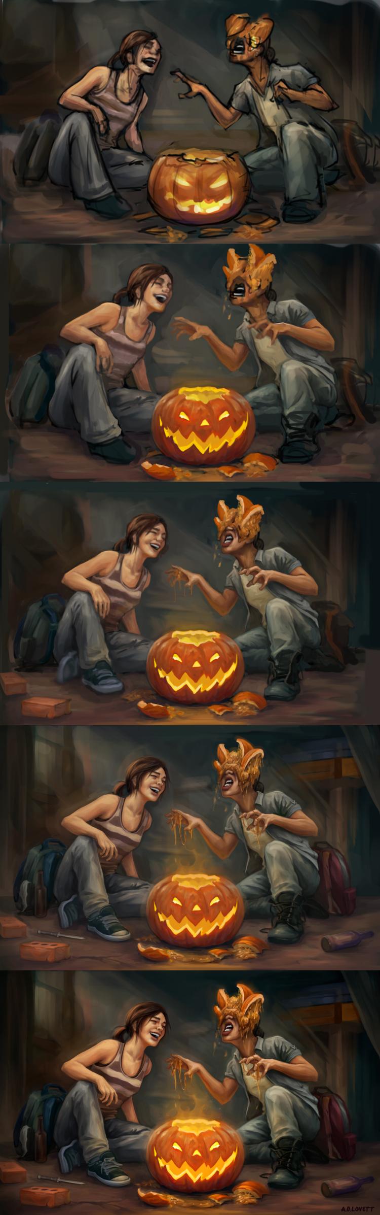 Last of Us: Halloween - Process