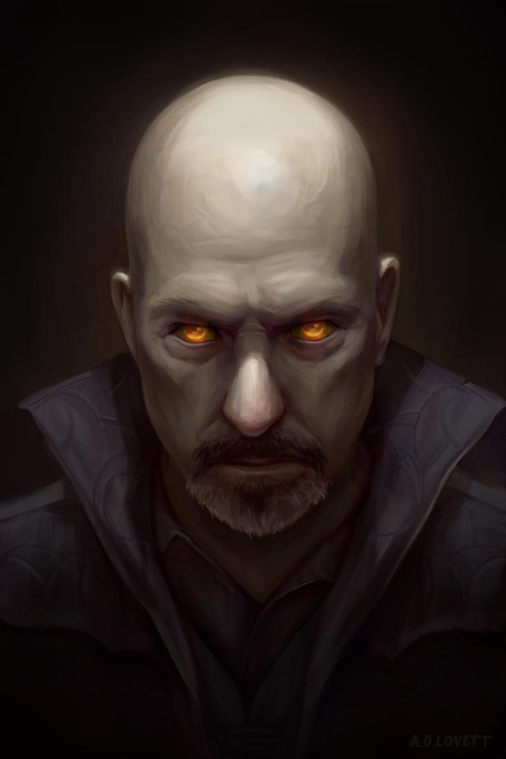 Vampire Portrait by adlovett