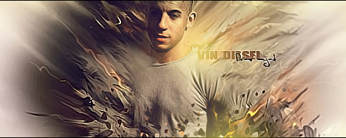 Vin Diesel by firasamjad