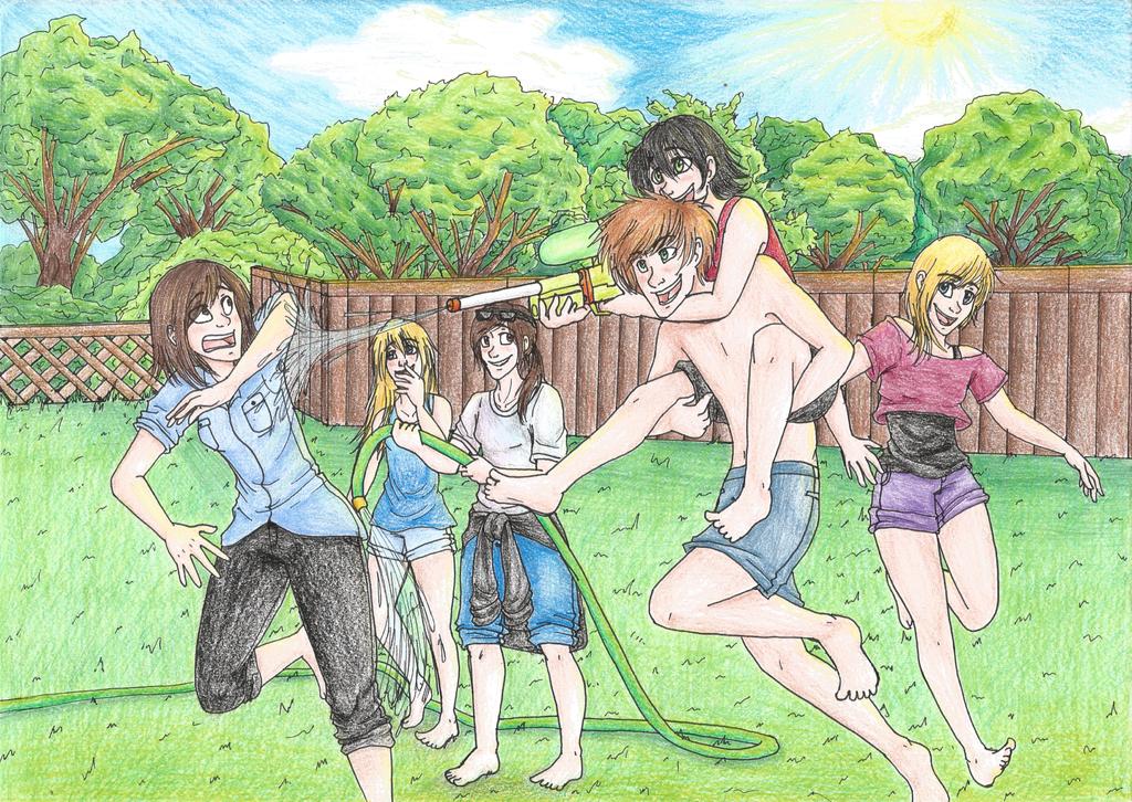 Summertime Madness by Dark-Dragon-Spirit