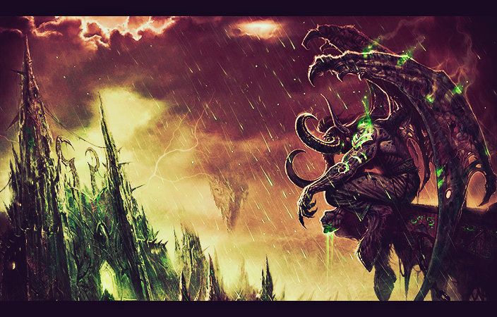 Illidan Stormrage by Laqko