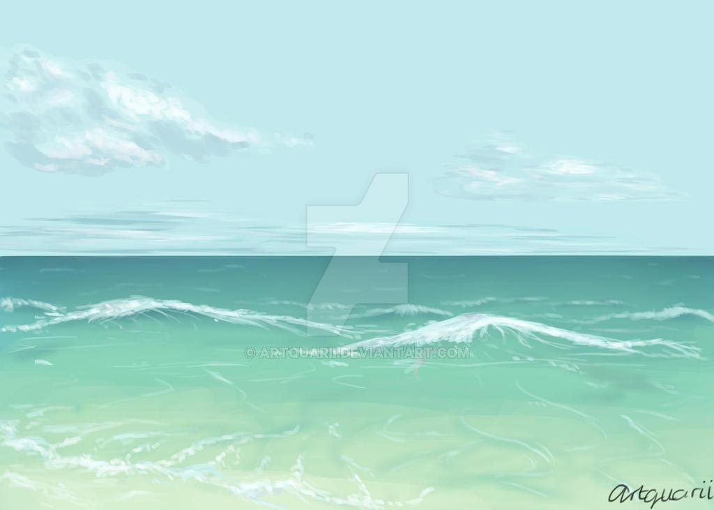 Sketch #1 - Beach by Artquarii