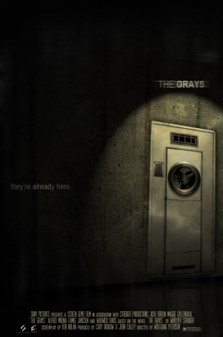 The Grays - Movie Poster by fauxster