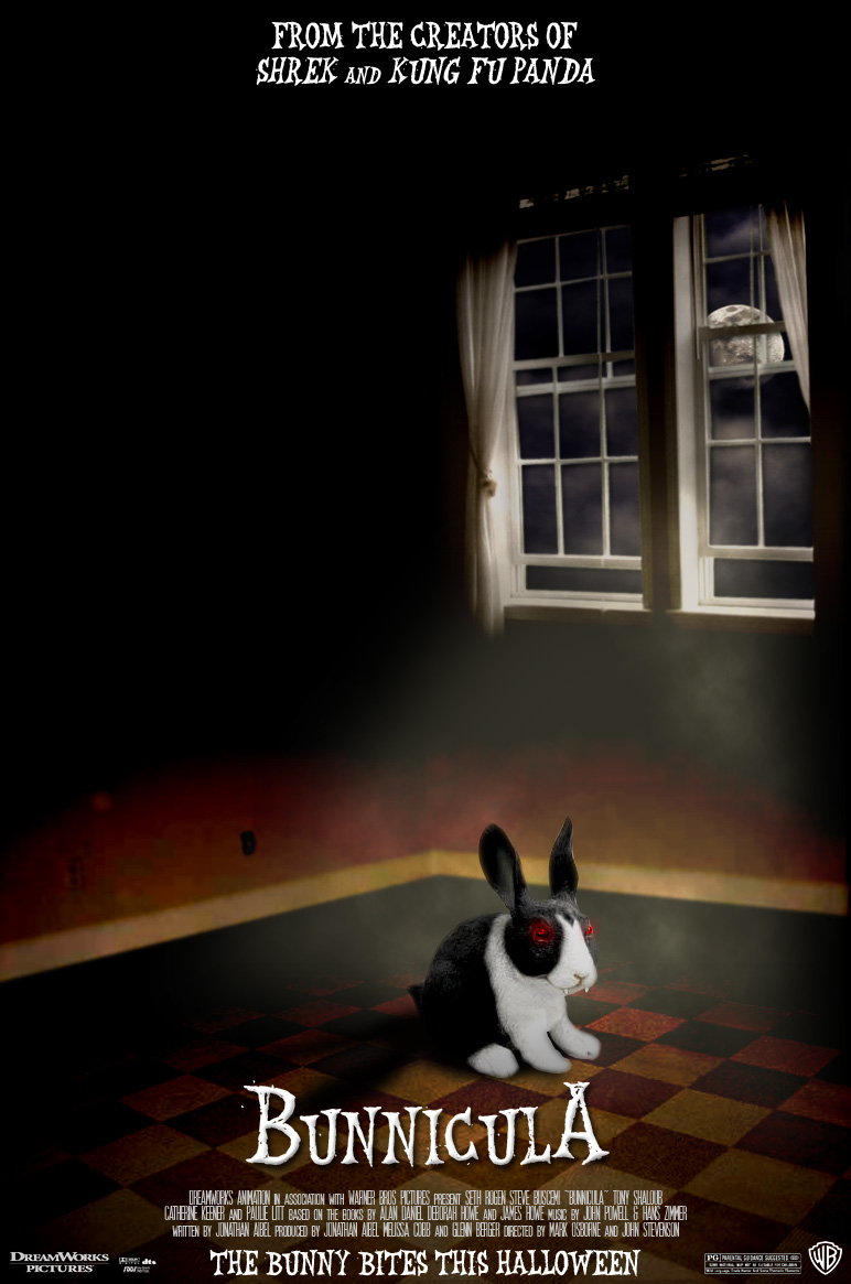 Bunnicula - Movie Poster by fauxster