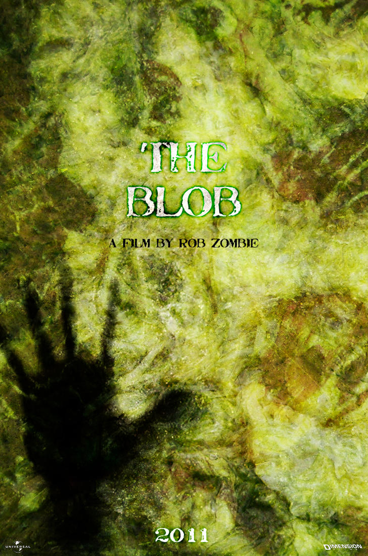 The Blob - Movie Poster by fauxster