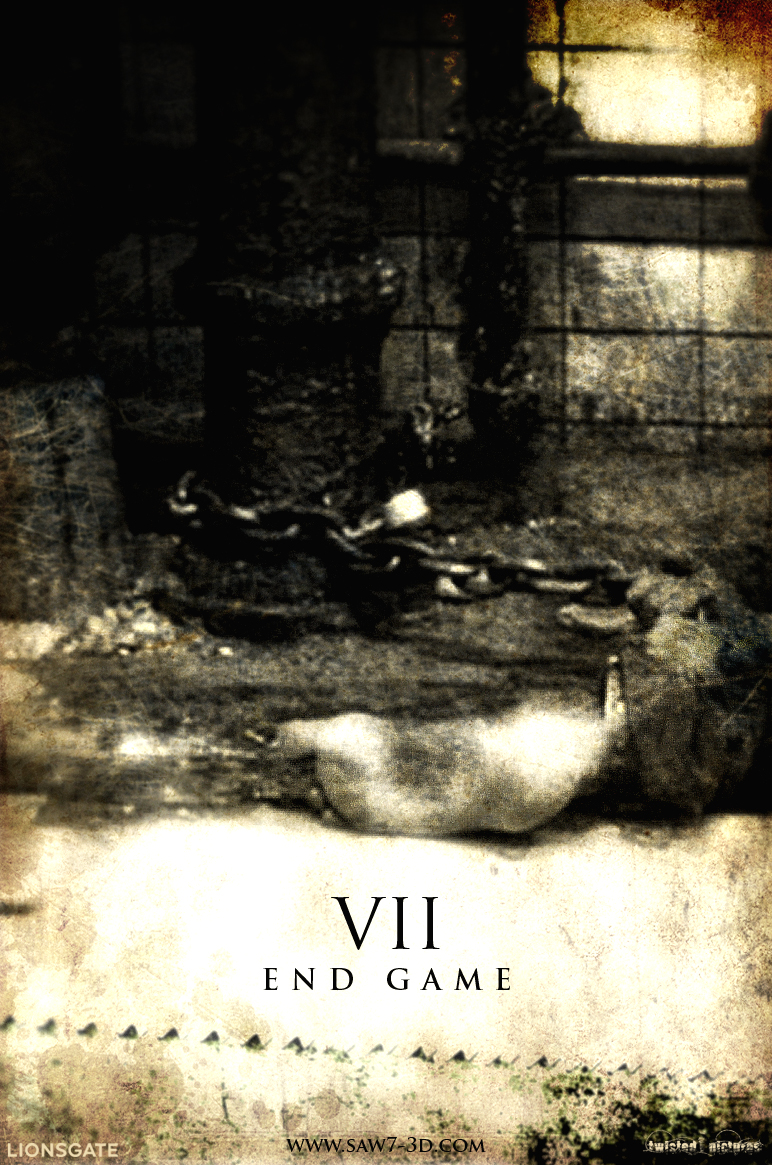 Saw VII - Movie Poster by fauxster