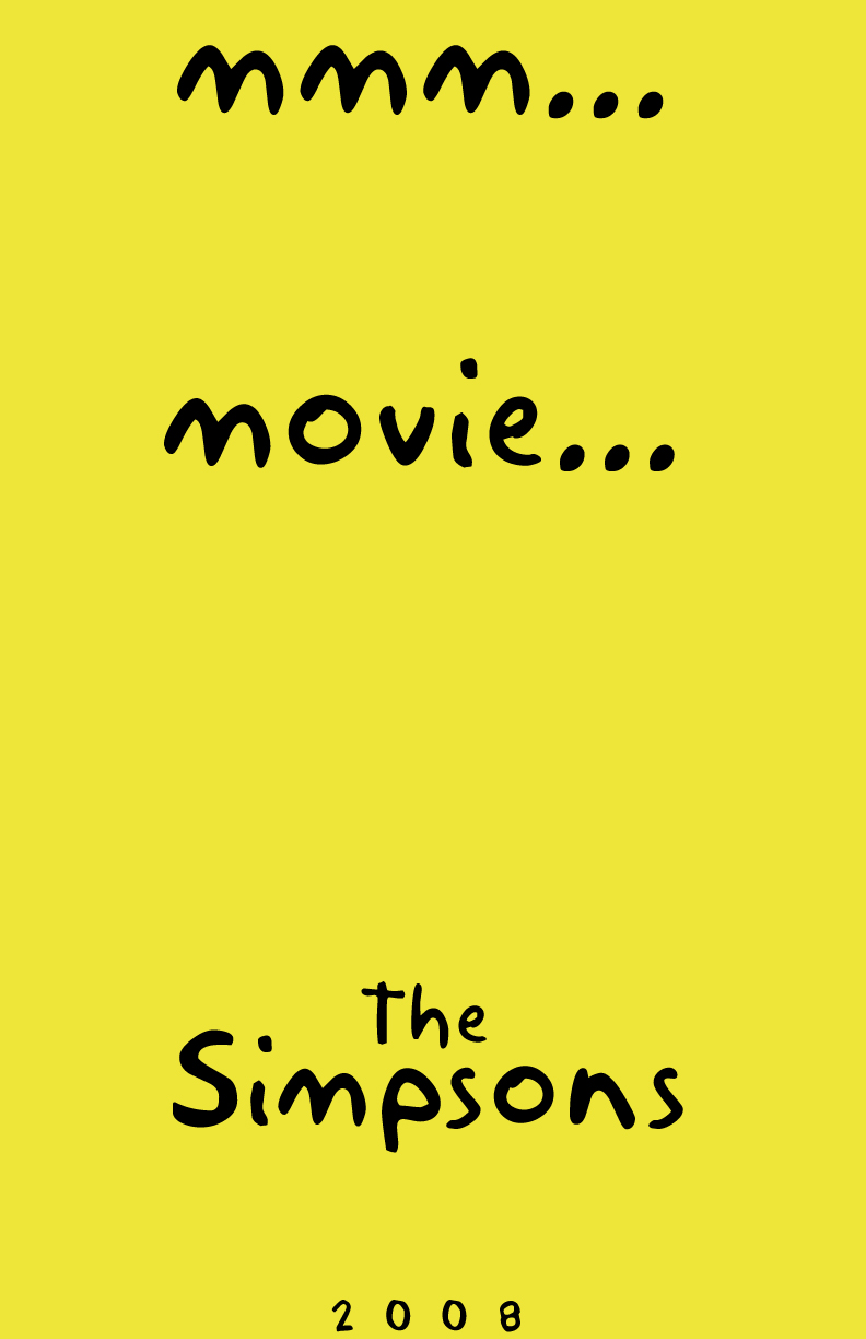 Simpsons Movie Movie Poster By Fauxster On Deviantart