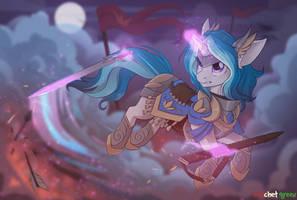 Pony Knight by RedchetGreen