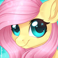 Fluttershy Icon by RedchetGreen