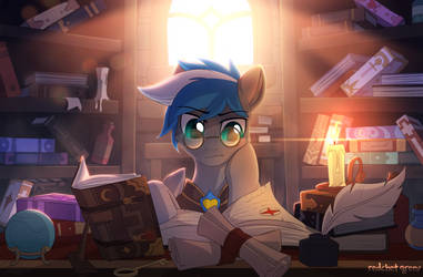 Librarian by RedchetGreen