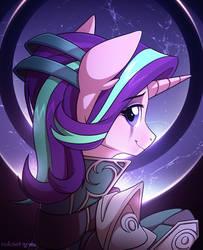 Starlight Glimmer x Diana by RedchetGreen