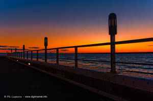 Graphic Sunset II by DigitPhil