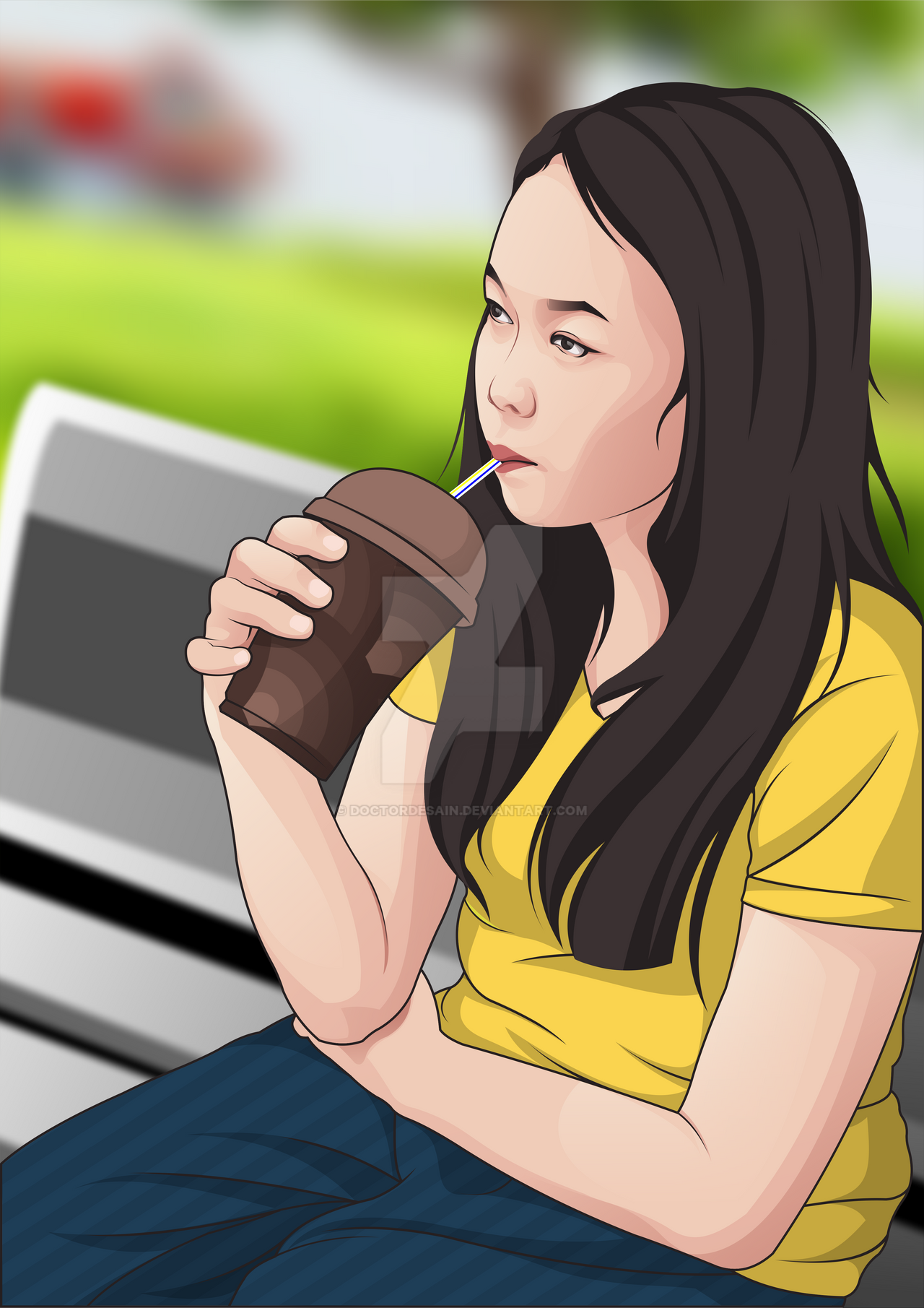 Vector Cartoon Sample