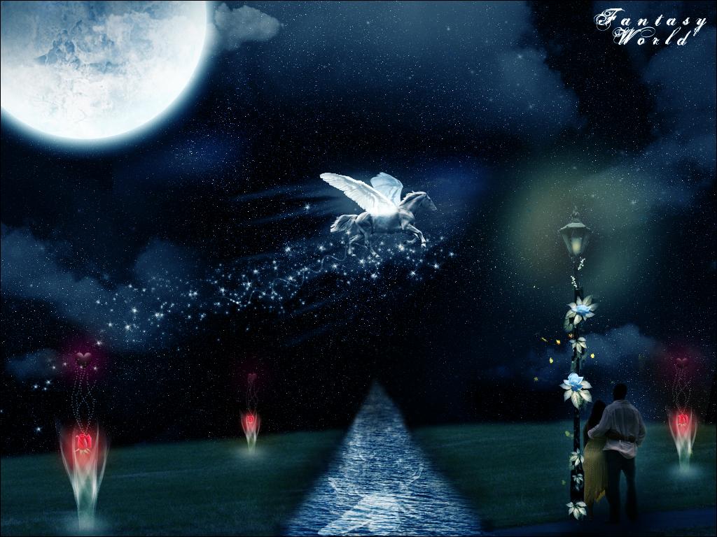 Fantasy world by FISHBOT1337