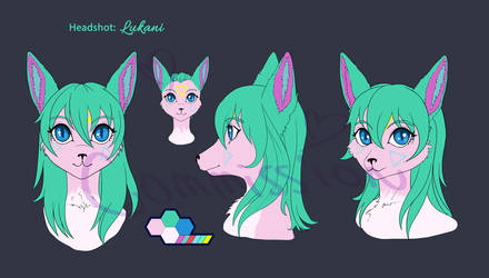 Headshot Reference for Lukani by Mizu-iro