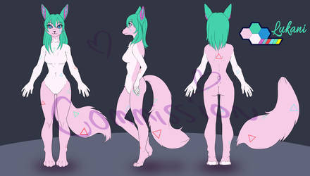 Body reference for Lukani by Mizu-iro