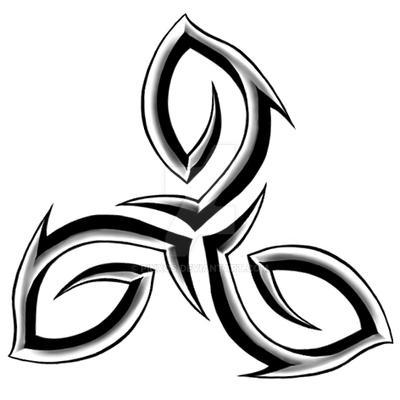 Image result for triskelion tattoo design