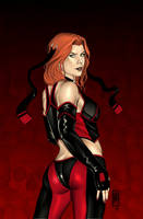 The LAST BloodRayne cover by MDiPascale