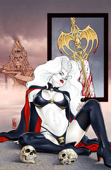 Lady Death Auxiliary 0 cover