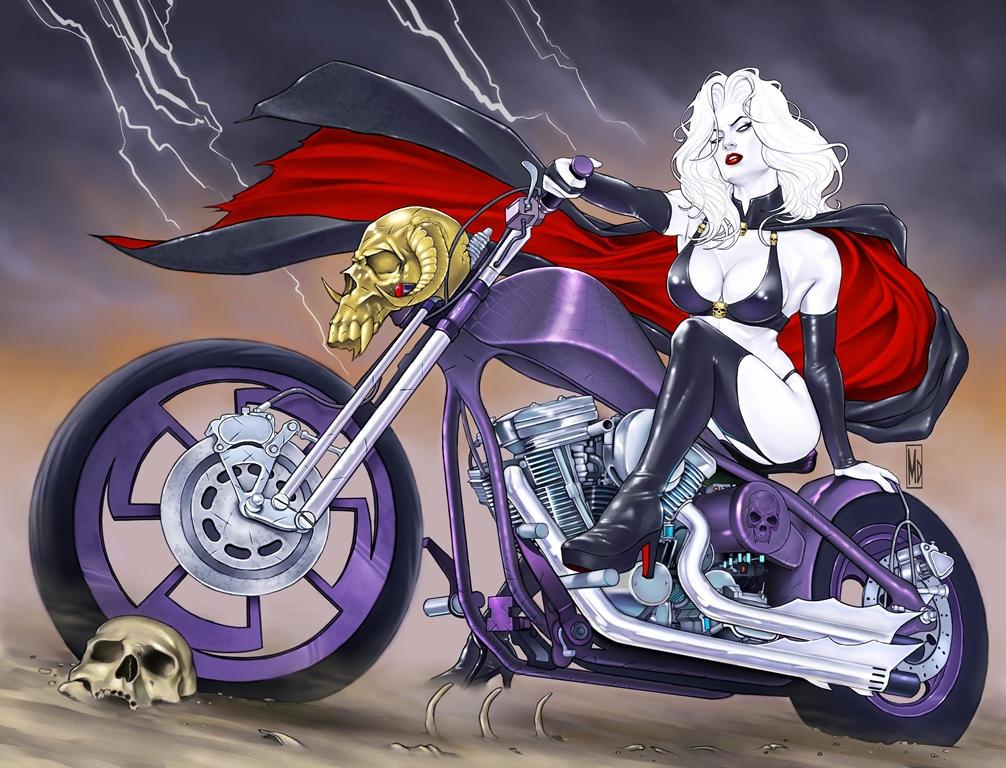 Lady Death Origins: Cursed Cover