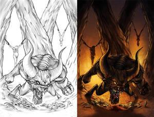 Unused Dark Gods Cover