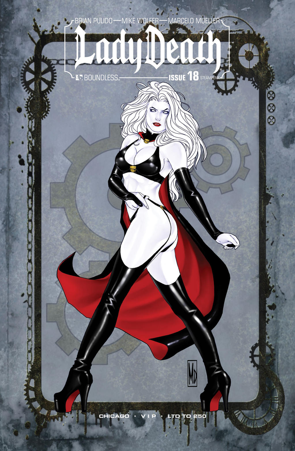 Lady death by mdipascale on deviantart for Michael b jewelry death