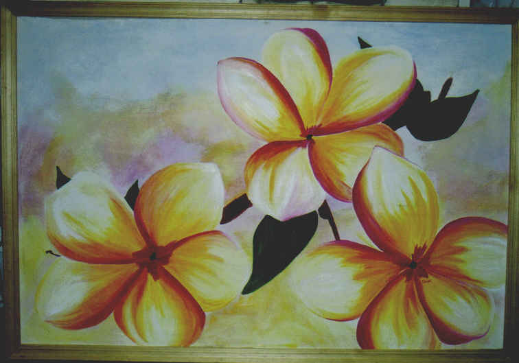frangipani by Liz-in-BackoBourke
