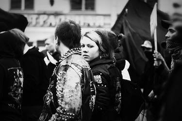Anarcho-punks by mariashooter