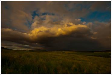 Angry Skies I by mojographics