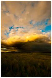 Angry Skies II by mojographics