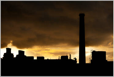 Smurfit in Sunrise by mojographics
