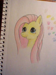 Sketch MLP:FiM Fluttershy by RTFtoon