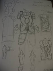 Costume Journal 10: Evolution - Concept 2 by RTFtoon