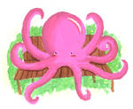 Pink Octopus. by smexy-sarah