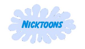 Nicktoons Chrome Logo Recreation