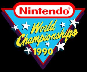 Nintendo World Championships logo recreation