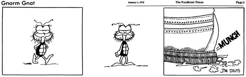 Gnorm Gnat Death (01-01-1976)