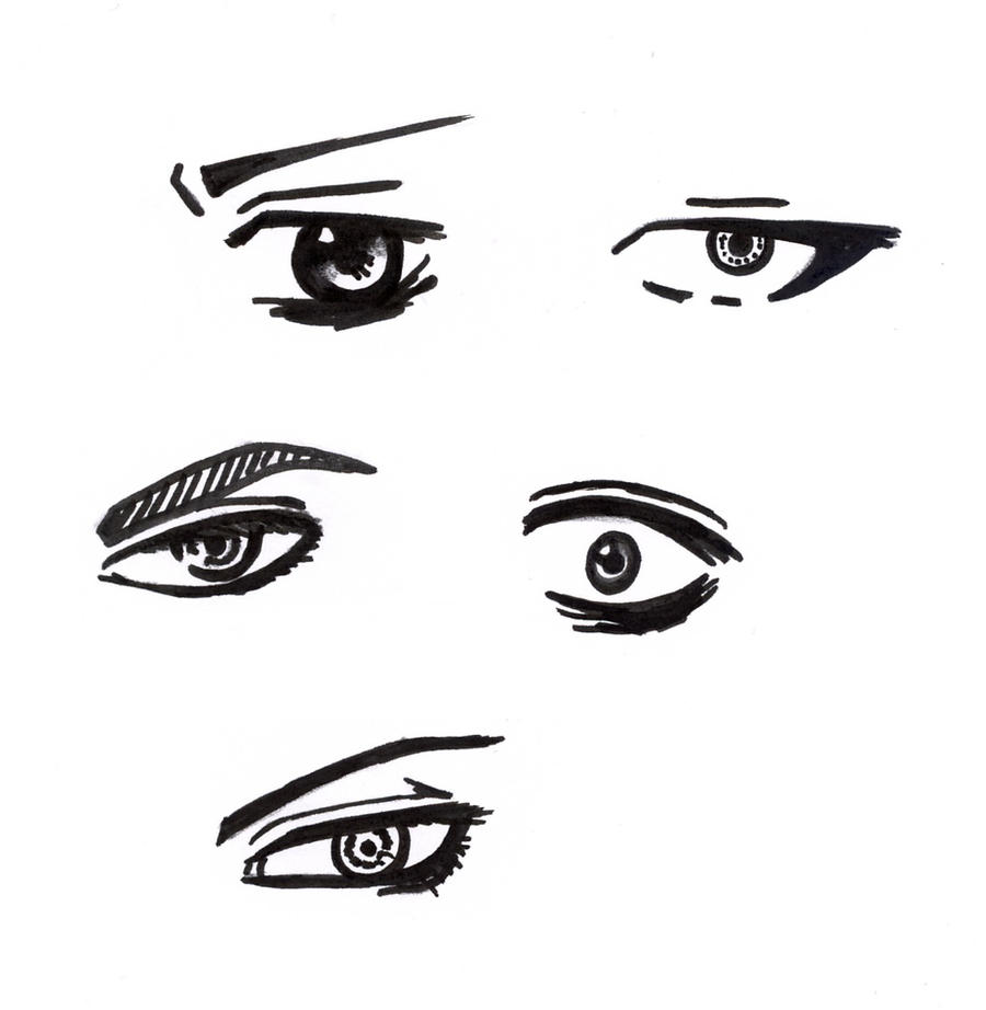Male Eyes By Manga Bells On DeviantArt 159503920 How To Draw