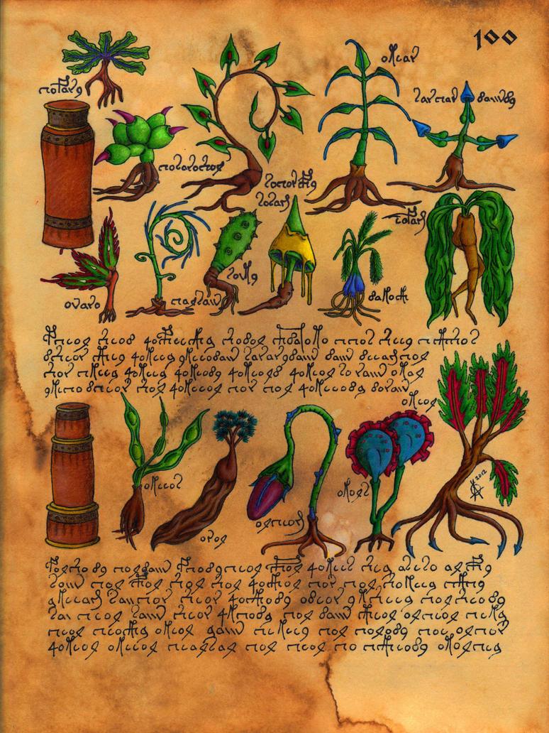 Voynich Dreams VII by DanteSangreal
