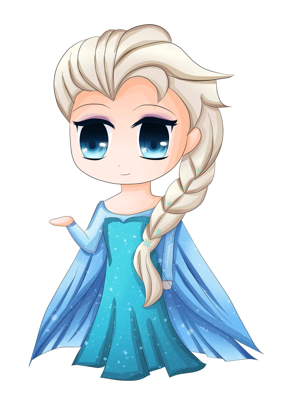 Elsa (Frozen) by shinyskymin on DeviantArt