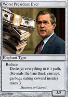 George Bush Card