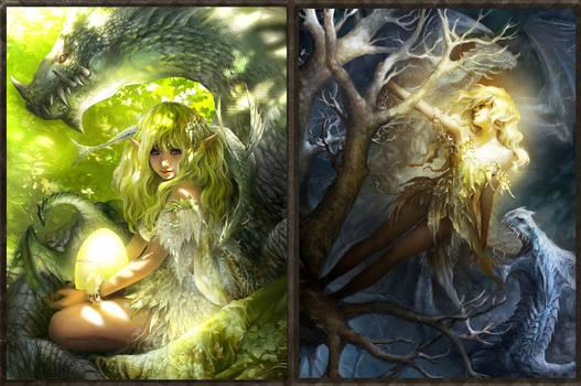 Illustration: Dragon land