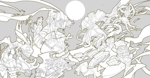 Endgods's war illustration