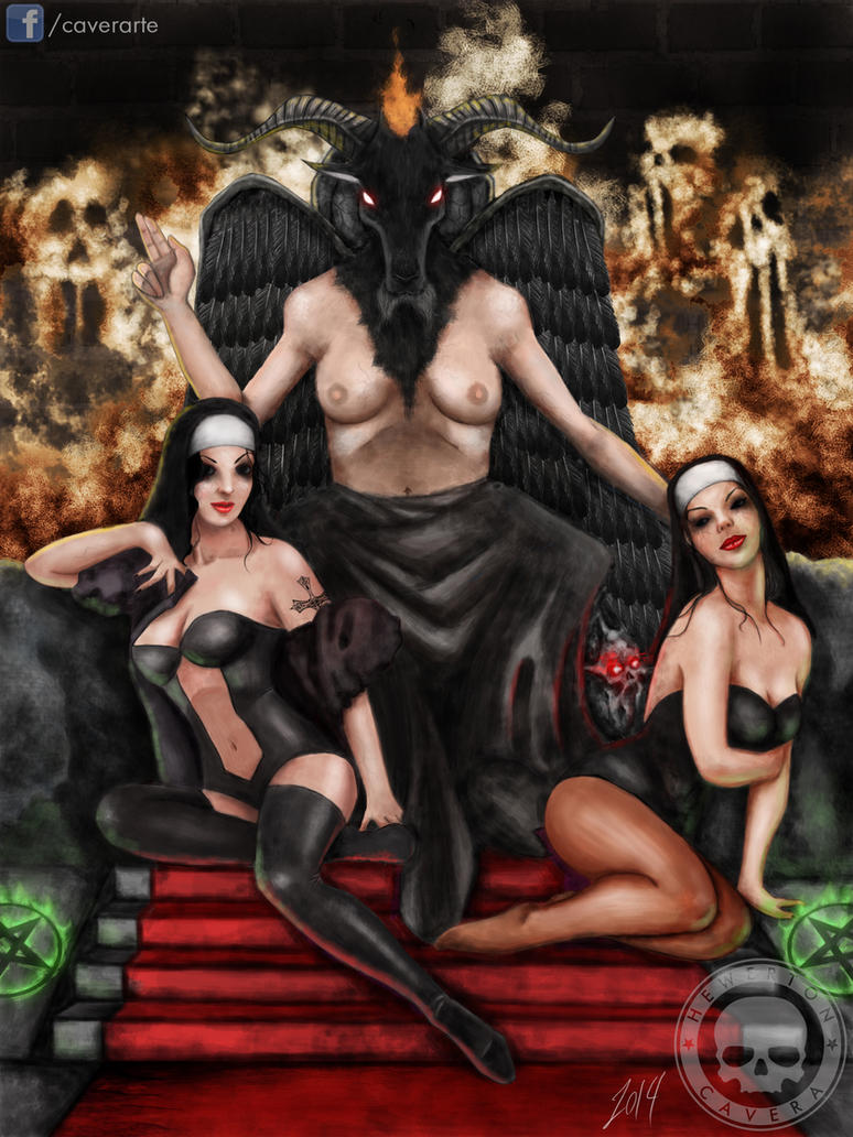 Baphomet and the Whores of God by CA-V-RA
