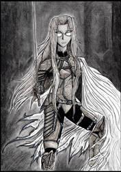 Armored Sir Integra Hellsing by The-Infamous-MrGates