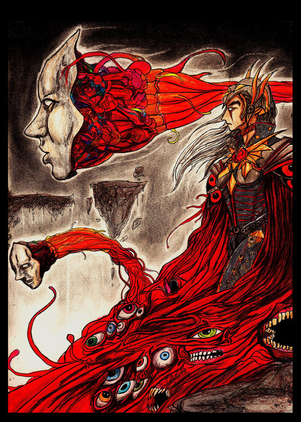 The Crimson Voyeur by Art-of-the-Seraphim