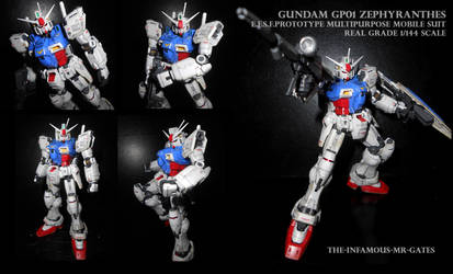 Gundam GP01 ZEPHYRANTHES