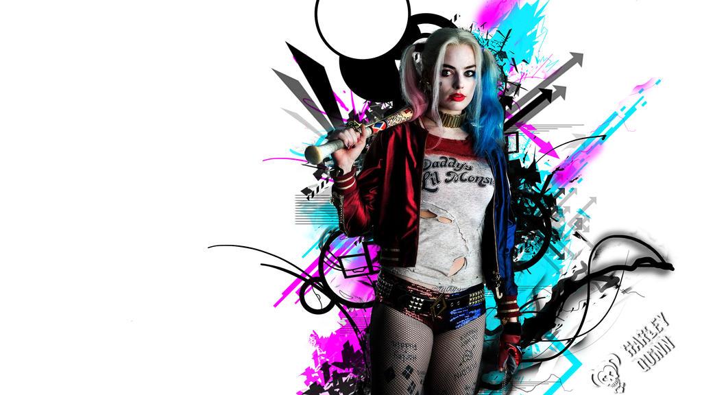 Margot Robbie As Harley Quinn Wallpaper: Harley Quinn (Margot Robbie) By VocaloidPanic On DeviantArt