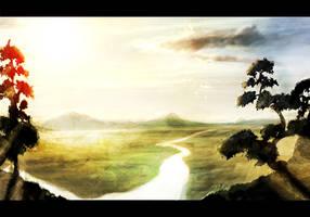 Asian Sunset by Betelgeuze01